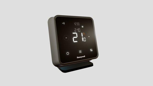 T6R SMART PROGRAMMABLE THERMOSTAT 3D Model