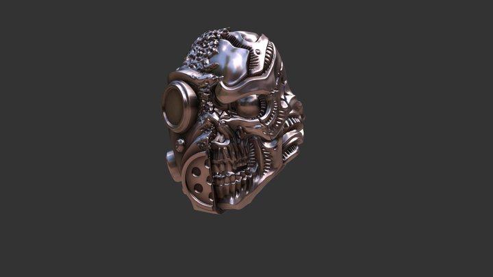 Scull Gas Masc 3D Model