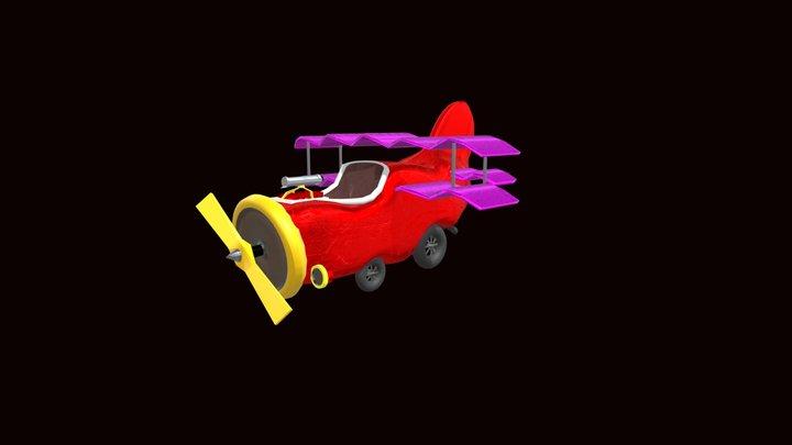 red baron car modeling 3D Model