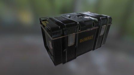 DeWalt Toolbox 3D Model