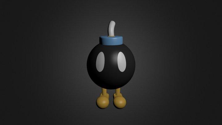 Bob-Omb 3D Model