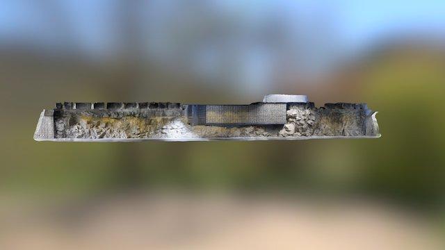 Franzensfeste Tunnel 3D Model