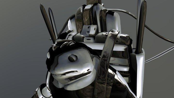 'Mobile Dugg' Frog Project 3D Model