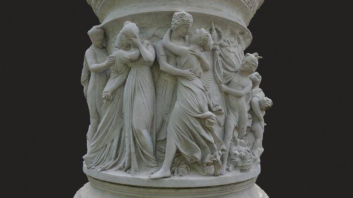 Luise Monument 3D Model