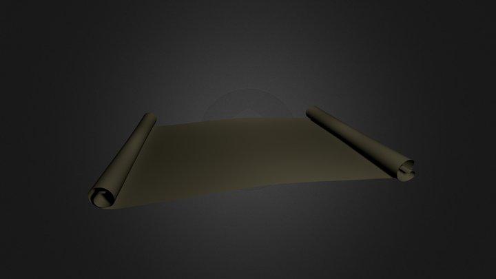 Parchment 3D Model