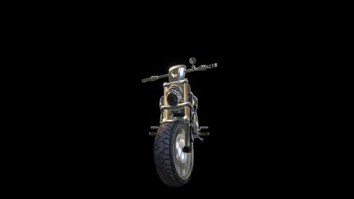 Motocycle 3D Model