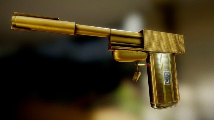 James Bond Golden Gun 3D Model