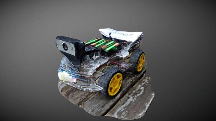 Lil Puma Telepresence 4G/LTE Internet Vehicle 3D Model