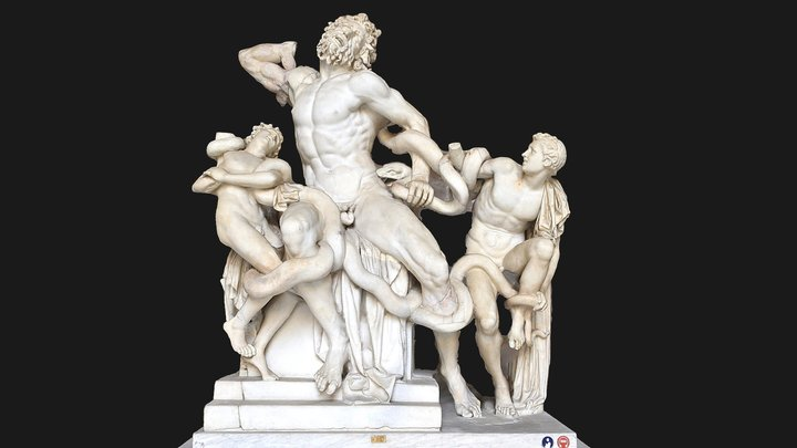 Laocoön and His Sons 3D Model