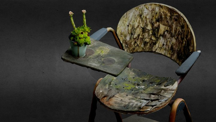 Good old classic fashion Chair 3D Model
