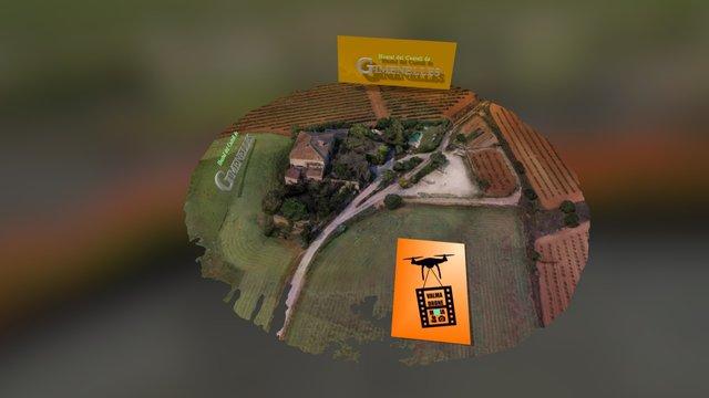 Hostal del Castell  de Gimenelles 3D Model