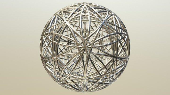 Atom Step17 6dohm 15d Life 3D Model