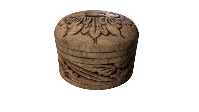 Barong Bowl 3D Model