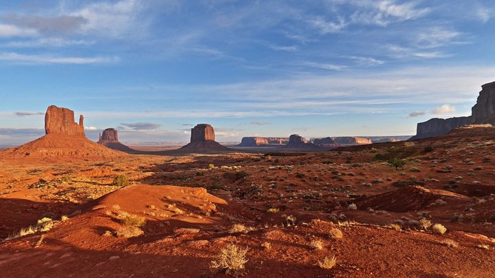 Sky Pano - Monument Valley Lookout 3D Model