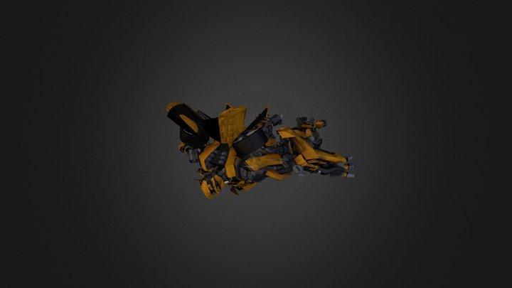 R B- Bumble Bee 3D Model