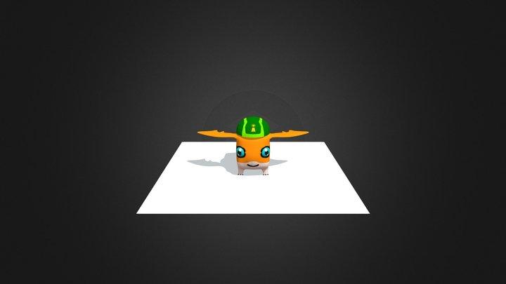 Patamon 3D Model