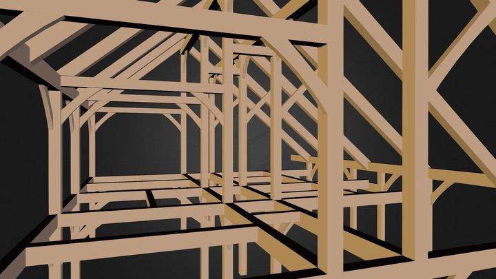 Welch timber frame Oct 15 2013 3D Model