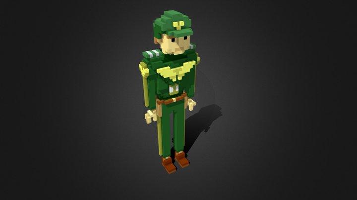 Capt Loadout 3D Model