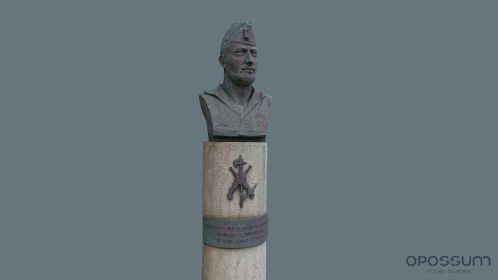 Teniente Jesús Aguilar Fernández 3D Model