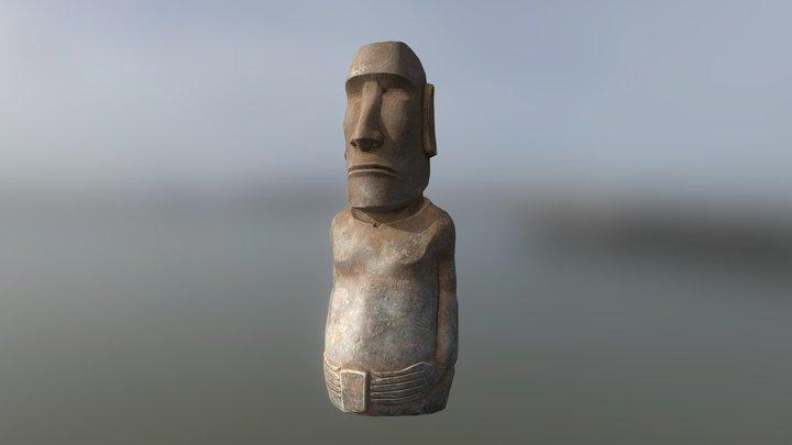 Easter Island Statue 3D Model