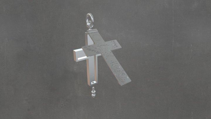 Artéfact Urbain - Croix Augustines (ouverte) 3D Model