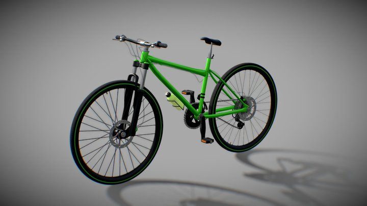 sports bicycle 3D Model