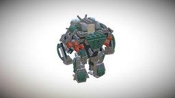 Strong 3D Model