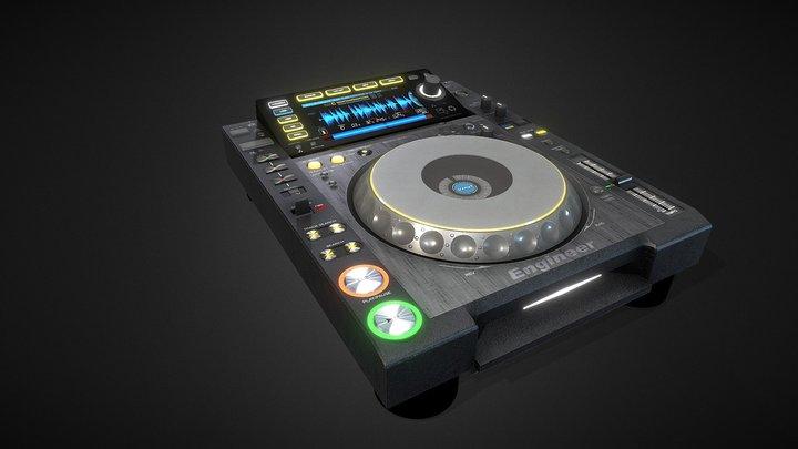 Nexus 2000 CD-DJ 3D Model