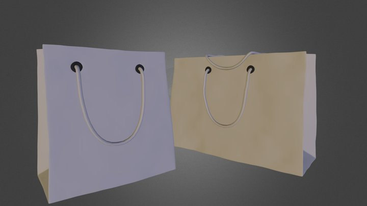 loewe_bag.3DS 3D Model