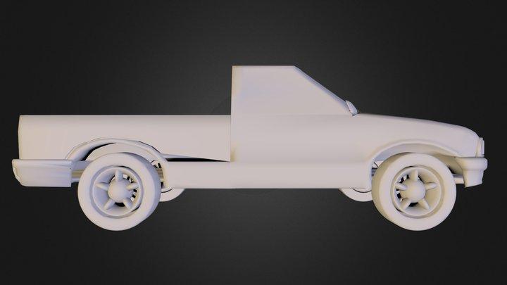 pickup_big.ply 3D Model