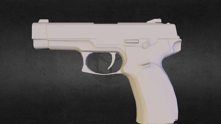MP-443 alpha studioz 3D Model