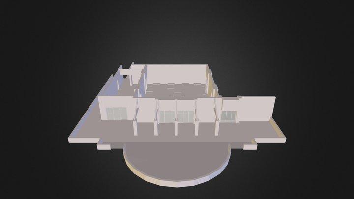 Fayence-terre-blanche.dae 3D Model