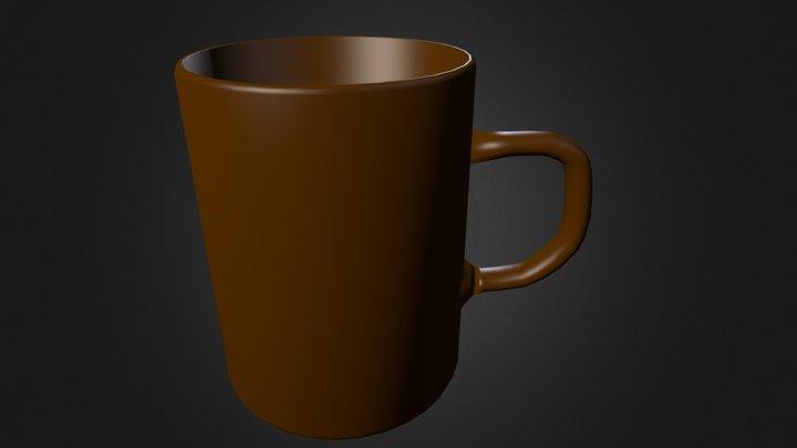 coffee mug.blend 3D Model