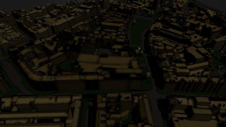 city1 3D Model
