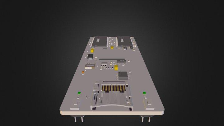QIL-A9G20-RevB.dae 3D Model