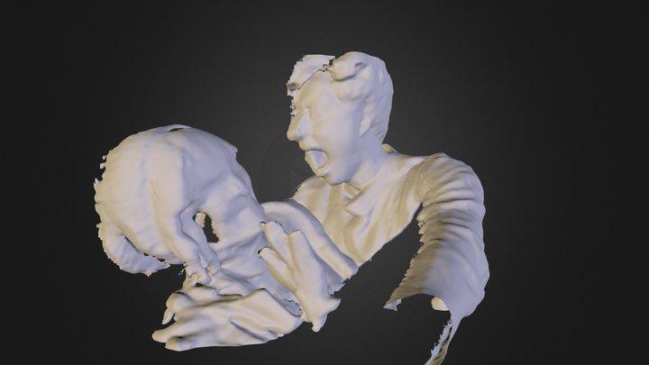 zombbie attack1.dae 3D Model