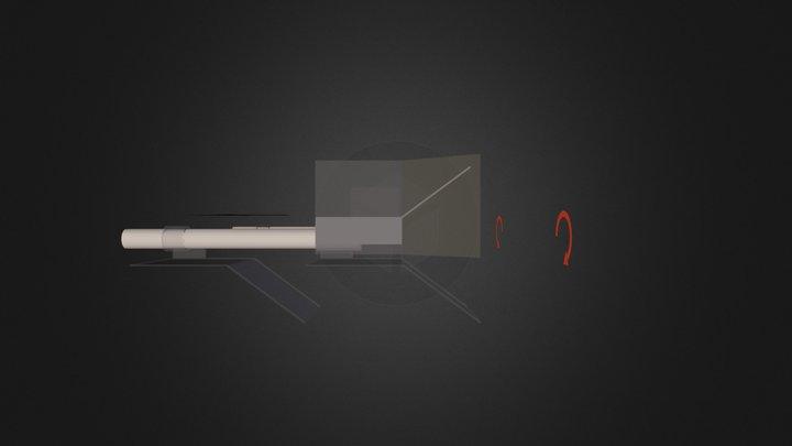 Split Keyboard Mount Movement Demo 3D Model