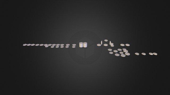 disk cases.obj 3D Model
