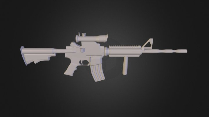 M4.blend 3D Model