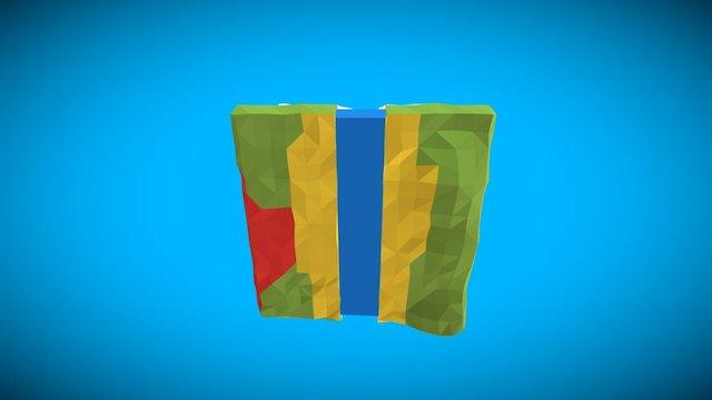 CubePlanet 3D Model