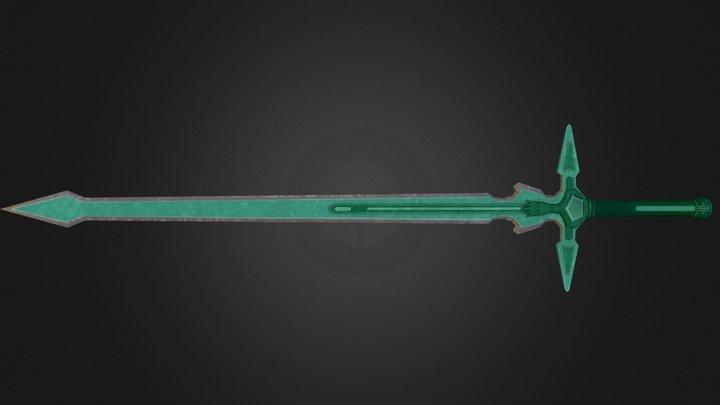 Skyrim sword: Dark Repulser 3D Model