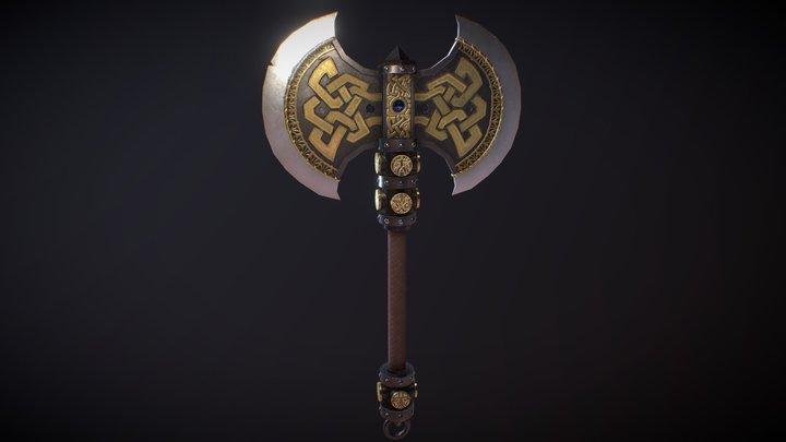 Dwarven Axe 3D Model