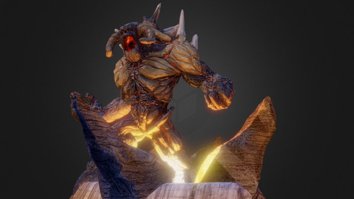 Ember TITAN 3D Model