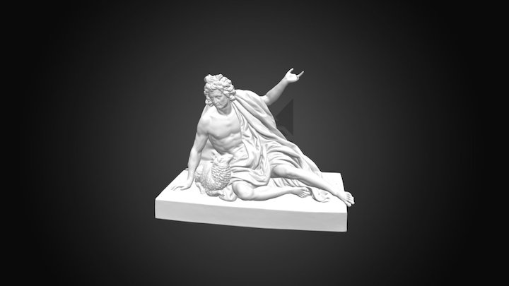 Św. Jan Chrzciciel (Wil.721) 3D Model