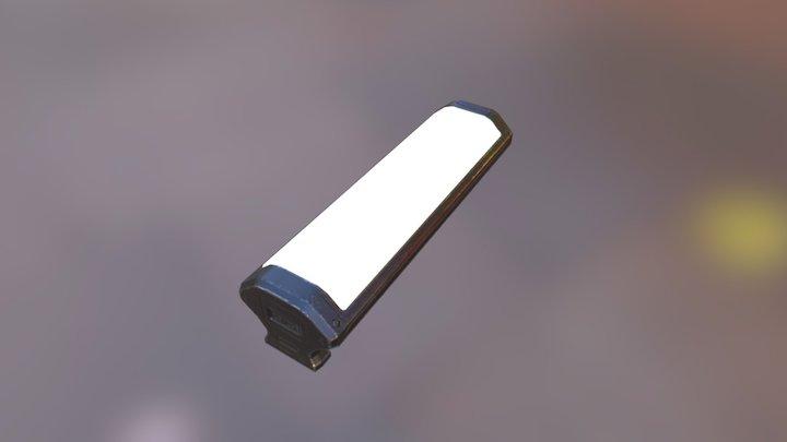 SciFi Light 11 3D Model