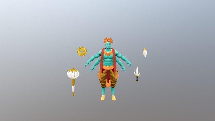 Vishnu 3D Model