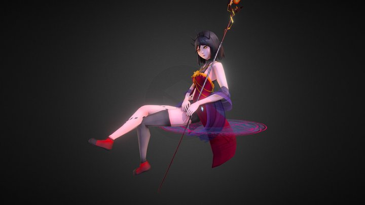 Hecate 3D Model