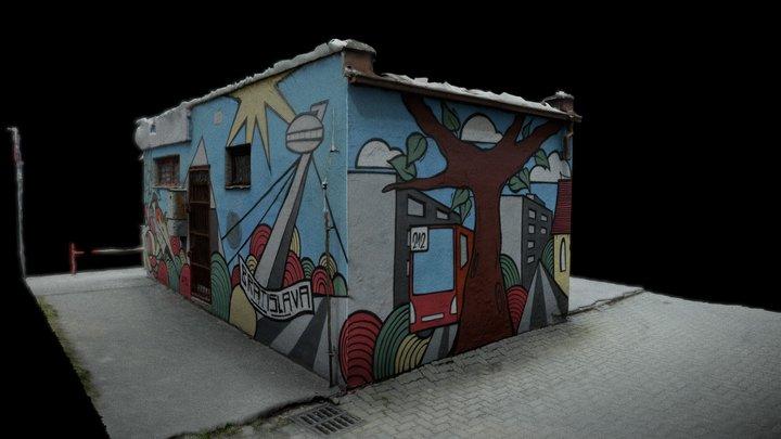 Grafity Bratislava 3D Model