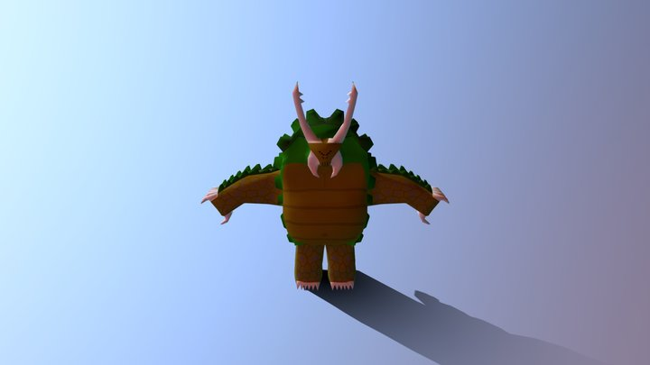 Turtle- bug  reptisect 3D Model