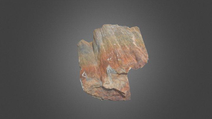 Shatter cone in quartzite, Sudbury basin 3D Model